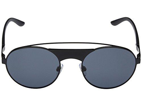 Giorgio Armani  Men's 0AR6047 Matte Black Sunglasses