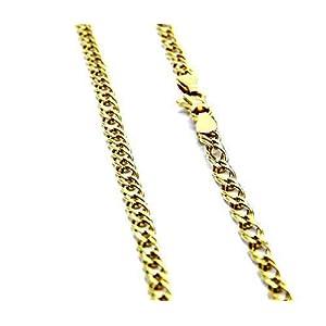 Pegaso Gioielli – Cadena de oro amarillo de 18ct y 50 cm para hombre y mujer Pegaso Gioielli – Cadena de oro amarillo de 18ct y 50 cm para hombre y mujer Pegaso Gioielli – Cadena de oro amarillo de 18ct y 50 cm para hombre y mujer
