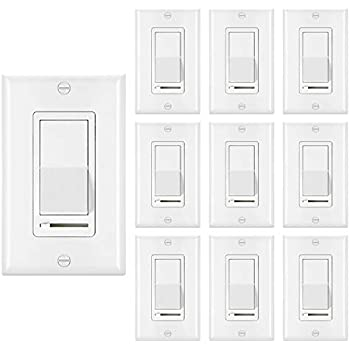 Cloudy Bay in Wall Dimmer Switch for LED Light/CFL ... on