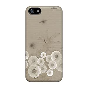 OuzNs2251VaoRx Case Cover Dragonfly Floral Iphone 5/5s Protective Case