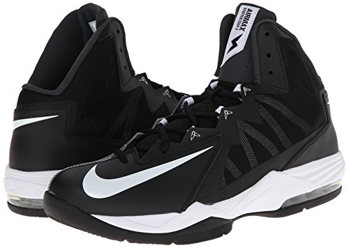 Nike Men's Air Max Stutter Step Basketball Shoe Black/Stealth/Anthracite/White Size 11 M US