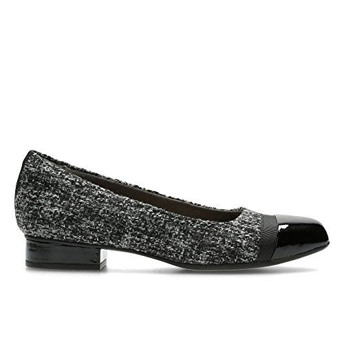 Style EU 39 Leather 5 Keesha Size Slip Clarks Pumps Size Ballerina Ladies UK Size US Grey Smart 5E 8W On Rosa wBATqBXSf