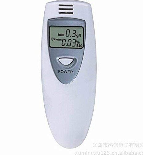 Amazon.es: Aliento Detector Alcohol Tester Meter Medidor de Drunk Alcoholímetro Vino Checker Finder Mini Monitor para conductores Policía