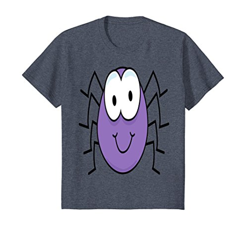 Kids Spider T Shirt 3 8 Heather (Spider Costume Homemade)