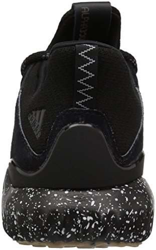adidas Performance Mens Alphabounce Lea Running Shoe Black/Utility Black/White uOaUH