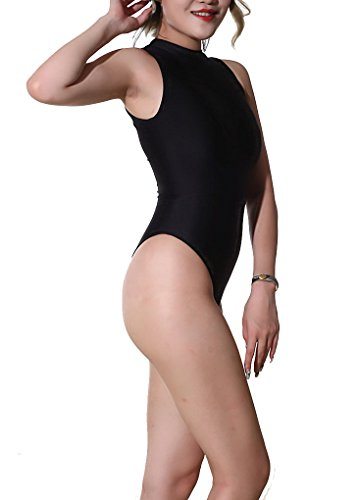 06bd219999 LinvMe Women s One Piece High Cut Swimsuit Tight Thong Bodysuit at Amazon  Women s Clothing store