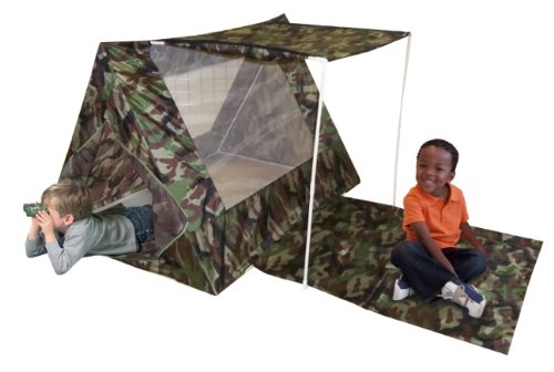 Play tent Camo Fort by Kids Adventure (Tent Camping Toy)