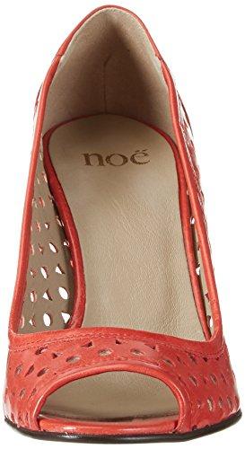 Noe Antwerp Damen Norris Peep-toe Rot (papavero)