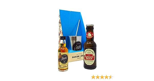 Rum - Sailor Jerry Spiced Rum & Ginger Beer Gift Set - Whisky
