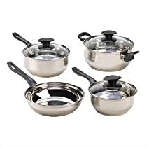 Malibu Creations 13780 Culinary Essentials Cookware Set