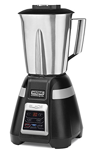 Waring Commercial BB340S 48 oz Bar Blender with Stainless Steel Jar