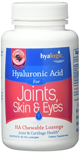 Hyalogic HA Lozenge 60 mg Supplement, 0.8 Ounce
