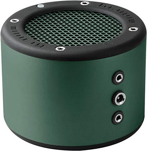 (MINIRIG 3 Portable Rechargeable Bluetooth Speaker - 100 Hour Battery - Loud Hi-Fi Sound - Green)