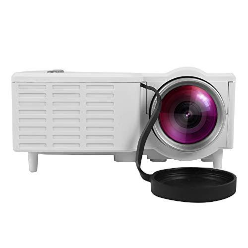 Mini-Projektor 1080P HD Heim-LED-Projektor Tragbares Heimkino LED Mini-Kabelprojektor Tragbarer Filmprojektor…
