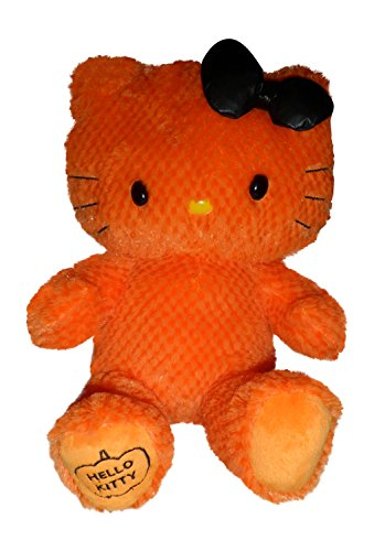 Hello Kitty Build A Bear ORANGE Limited Edition Halloween Plush In Box With Tag