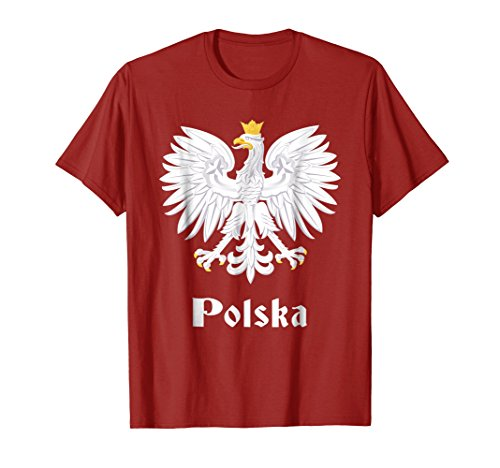 Polish Eagle T shirt Poland Coat of Arms ()