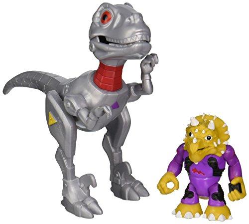 Teenage Mutant Ninja Turtles Pre-Cool Half Shell Heroes Battle Robo Raptor with Triceraton Vehicle and Figure