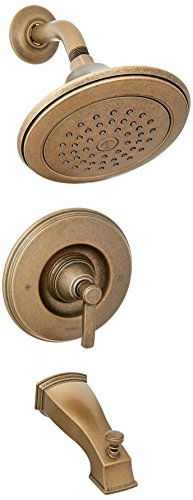 Moen TS3213ORB Rothbury Moentrol Tub and Shower Trim Kit without Valve, Oil Rubbed Bronze ()