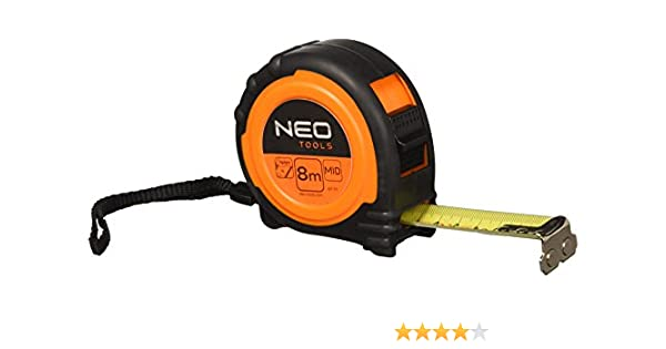 Neo Tools 67-111 Flex/ómetro 8 m x 25
