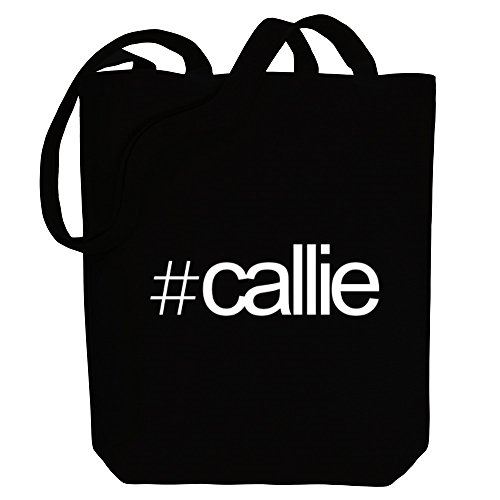 Names Female Tote Idakoos Hashtag Callie Hashtag Canvas Bag Idakoos CPq4wxU