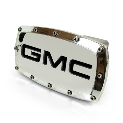GMC Engraved Billet Hitch Cover by GMC