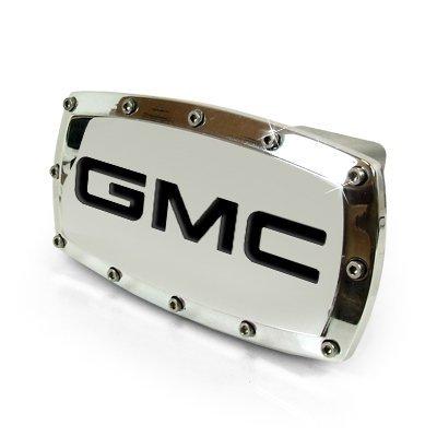 GMC Engraved Billet Hitch - 2 Cover Inch Hitch Billet