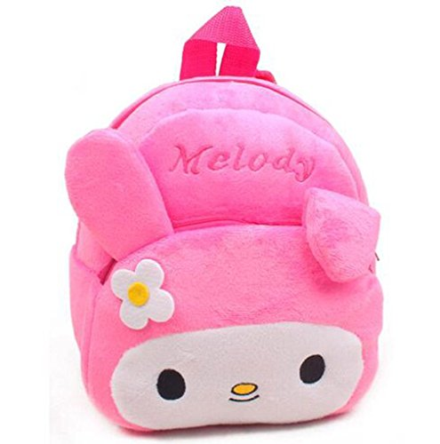 Back Animal - Chase Fans Cute Toddler Backpack Baby Plush Small School Shoulder Bag (rabbit)