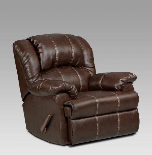 Chelsea Home Furniture Ambrose Chaise Rocker Recliner, Brandon Brown