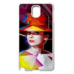 Audrey Hepburn Original New Print DIY Phone Case for Samsung Galaxy Note 3 N9000,personalized case cover ygtg-785956
