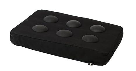 Cuscino per pc portatile su gambe letto nero cm.37: amazon.it