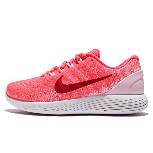 Artic Nike Lunarglide 9 Running Mujer Wmns Punch Hot Zapatillas 601 Rosa de para Rosa Noble Rojo qq6r5Cw