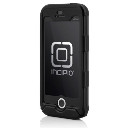 newest ae9fe 75fa1 Incipo Apple iPhone 5/5S Atlas ID Waterproof Case - Retail Packaging - Black