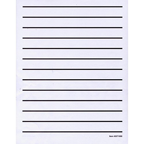 Low Vision Writing Paper - Bold Line -1 pad