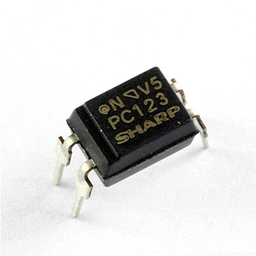 Exiron 50PCS PC123 Triac Driver IC Optoisolator Photocoupler Optocoupler DIP-4 by Exiron