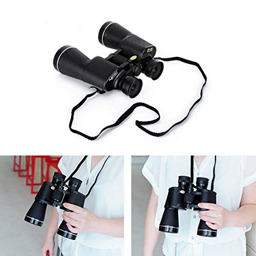 NASHICA Sprit 20 X 50 ZCF, 20 Times Binoculars, Outdoor Travel Binoculars, Water Resistant, Fully Coated Lense, 7.4'' x 6.8'' x 2.3'', Black by NASHICA (Image #2)