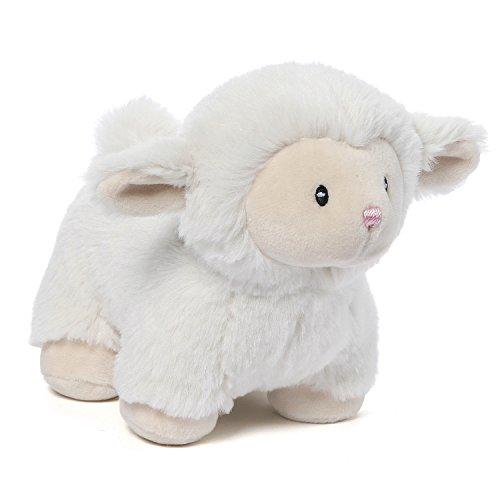 Baby GUND Lopsy Lamb Stuffed Animal Plush, Cream, 5.5