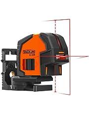 Niveau Laser Tacklife SC-L05 Professionnel Croix 30m à 130°/Positionnement avec 2 Points/Laser Commutable Croix Vertical Horizontal/Support Magnétique