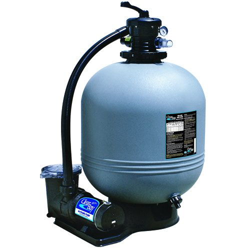 Waterway CI52253876S 22 in. Sand Filter System 2 HP Dual Speed Pump by Waterway