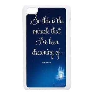 Cinderella iPod Touch 4 Case White Decoration pjz003-3770368