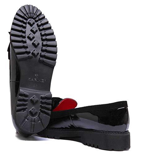 1 175 Stivali 285 A Donna zc Black Patent natalie Justin Reece qWt6YY