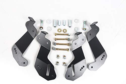 - Poison Frog PK8234 JK Geometry Correction Front Control Arm Drop Brackets For Jeep Wrangler JK