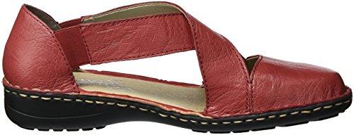 Rieker 49863, Bailarinas para Mujer Rojo (Rosso / 34)