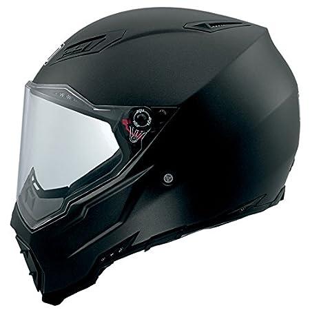 Amazon.com: AGV AX-8 Evo Naked Road Helmet (Matte Black, Large): Automotive