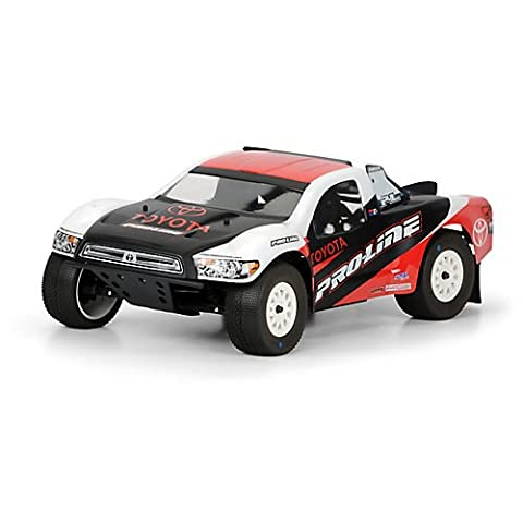 Pro-Line Racing 336400 Toyota Tundra Clear Body for Slash, Slash 4 x 4, SC10, XX-SCT (Proline Body Slash 4x4)