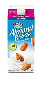 Almond Breeze Unsweetened Vanilla, Almondmilk, 64, fl oz