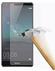 plt24 härdat glas med skärmskydd för Samsung, Huawei Mate S, genomskinlig