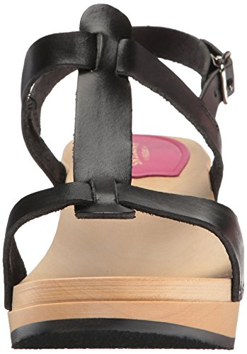 Women's hasbeens Clog Sandal swedish Black Greek x5IqYxwC