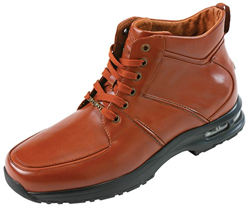 148a75a19b6 high-quality Pelle Pelle Mens Cognac Smooth Air Bottom Casual Sneaker Boot  with Moc Toe and Butted Seams  Style PP845 Cognac-215