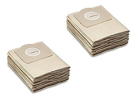 Papel de filtro de bolsas como 6.959 - 130.0 Válido para Kärcher wd2, WD3, MV2, MV3, a2054, A2201, etc. de la Casa M & M Smartek Alemania 5/10Stk