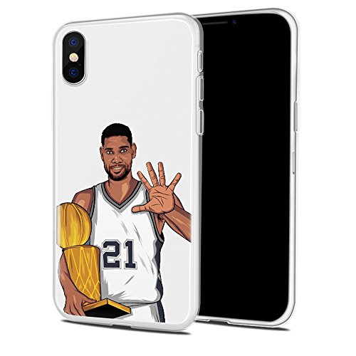 Bap Store Basketball Silicone Protective Transparent Thin Case Compatible with iPhone 7 / iPhone 8 (15)